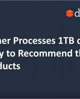 ShopRunner Processes 1TB of Data a Day to Recommend the Right Products.