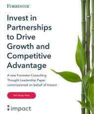 Invest In Partnerships To Drive Growth And Competitive Advantage