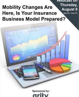 Mobility Changes Are Here, Is Your Insurance Business Model Prepared?