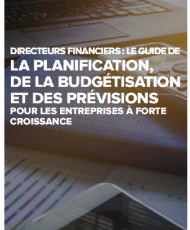 1 5 190x230 - DIRECTEURS FINANCIERS: LE GUIDE DE LA PLANIFICATION DE LA BUDGETISATION ET DES PREVISIONS POUR LES ENTREPRISES A FORTE CROISSANCE