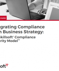 Integrating Compliance with Business Strategy The Skillsoft Compliance Maturity Model 190x230 - Integrating Compliance with Business Strategy: The Skillsoft® Compliance Maturity Model™