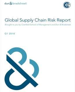 2018 Global Supply Chain Risk Report