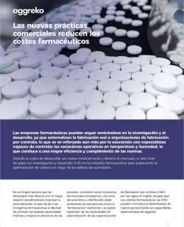 Las nuevas prácticas comerciales reducen los costos farmacéuticos