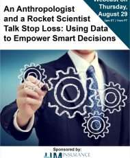 An Anthropologist and a Rocket Scientist Talk Stop Loss: Using Data to Empower Smart Decisions