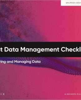 Test Data Management Checklists: Securing and Managing Data