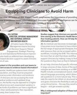 Equipping Clinicians to Avoid Harm