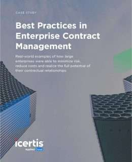 Best Practices in Enterprise Contract Management