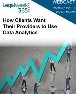 How Clients Want Their Providers to Use Data Analytics?