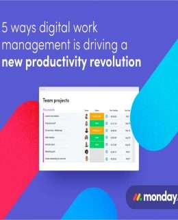 5 Ways Digital Work Management Is Driving A New Productivity Revolution