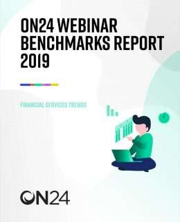 Webinar Benchmarks Report for Financial Services 2019