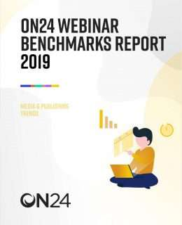 Webinar Benchmarks Report for Media & Publishing 2019