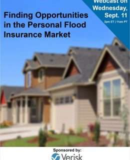 Finding Opportunities in the Personal Flood Insurance Market