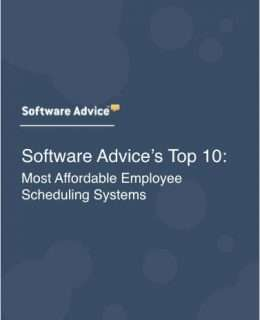 Software Advice's Top 10: Most Affordable Employee Scheduling Systems