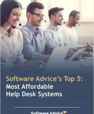 Software Advice's Top 5: Most Affordable Help Desk Systems