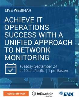 LIVE WEBINAR: Achieve IT Operations Success with a Unified Approach to Network Monitoring