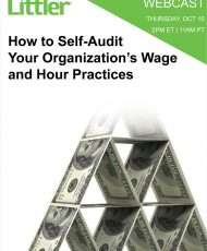 How to Self-Audit Your Organization's Wage and Hour Practices
