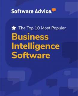 Software Advice's Top 10: Most Popular Business Intelligence Software