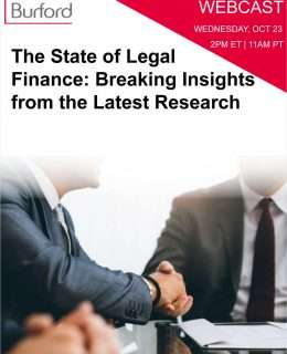 The State of Legal Finance: Breaking Insights from the Latest Research