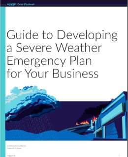 Guide to Developing a Severe Weather Emergency Plan for Your Business
