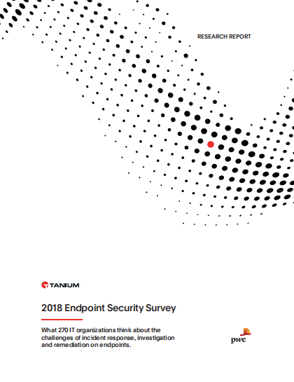 2018 endpoing security survey - 2018 Endpoint Security Survey