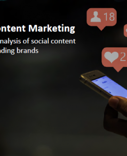 1 2 260x320 - A benchmark analysis of social media content from 350 industry leading brands