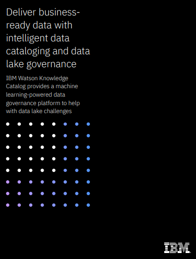 Deliver business ready data with intelligent data cataloging and data lake governance - Deliver business-ready data with intelligent data cataloging and data lake governance
