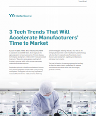3 tech 190x230 - 3 Tech Trends That Will Accelerate Manufacturers' Time to Market