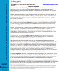 cobot 190x230 - Cabot Report: IBM Cloud Pak for Data System, The Leading Hyper-Converged Platform for Data and AI