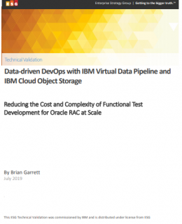 data driven 260x320 - Data-driven DevOps with IBM Virtual Data Pipeline and IBM Cloud Object Storage