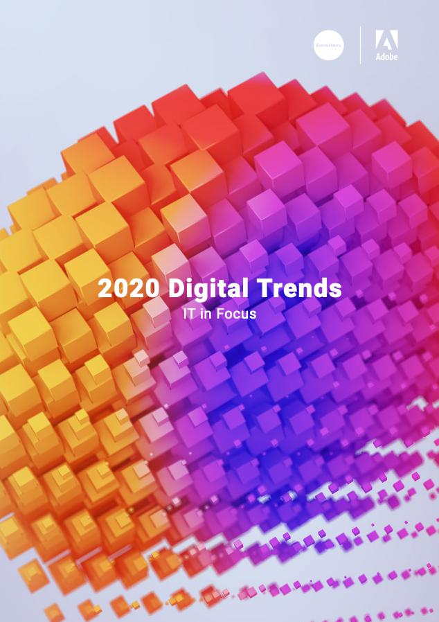 Screenshot 2020 10 20 2020DigTrendsIT pdf - 2020 Digital Trends: IT in Focus