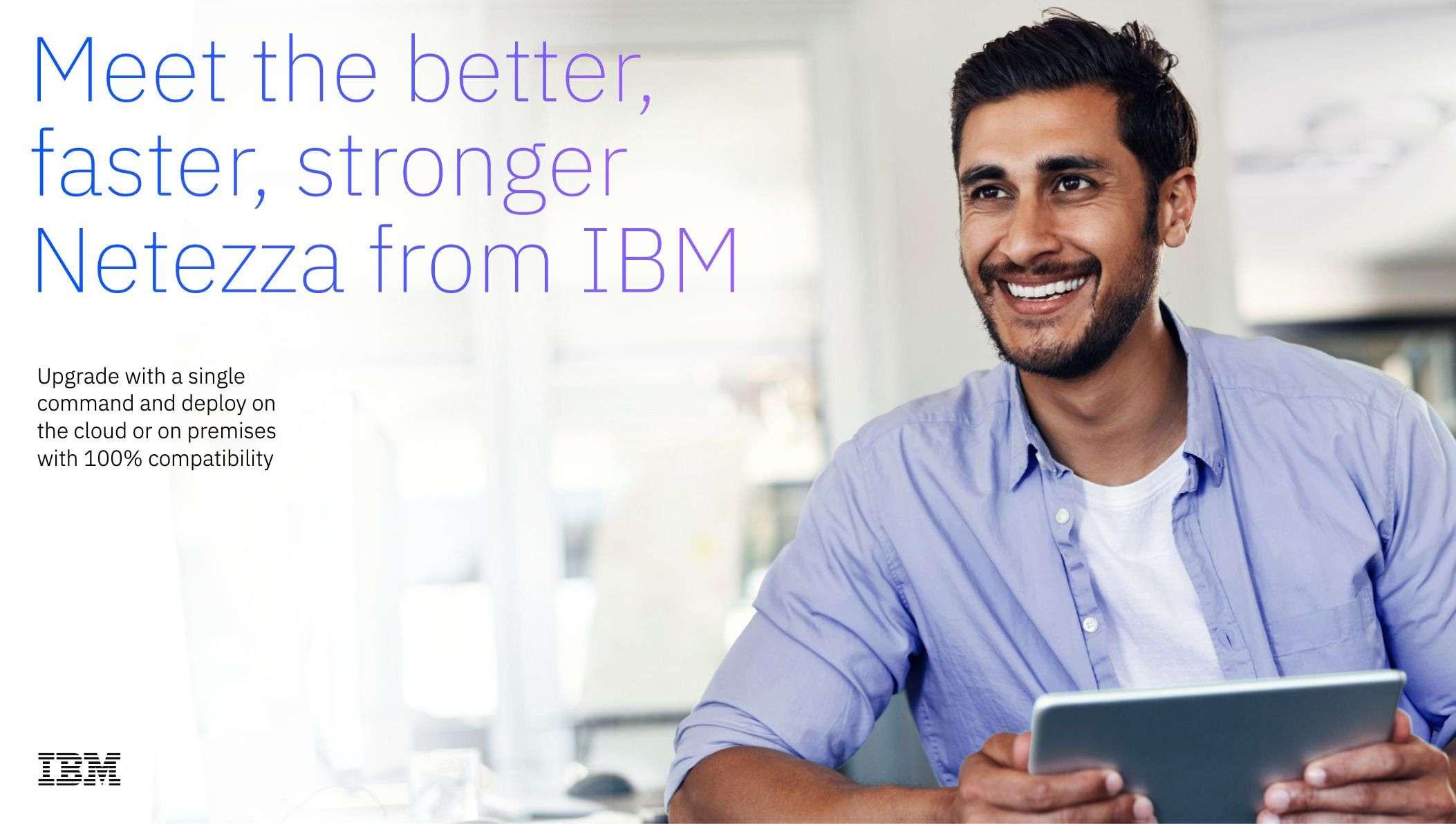 Screenshot 2020 10 20 Meet the better faster stronger Netezza from IBM WEK04KWM - Netezza Performance Server Migration Guide - Meet the better, faster, stronger Netezza from IBM