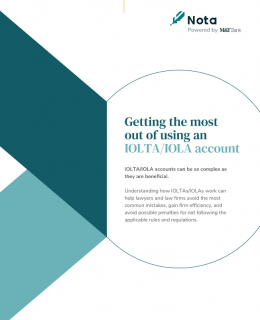 Screenshot 2020 10 26 Getting the Most Out of Using an IOLTA IOLA Account pdf 260x320 - Getting the Most Out of Using an IOLTA/IOLA Account