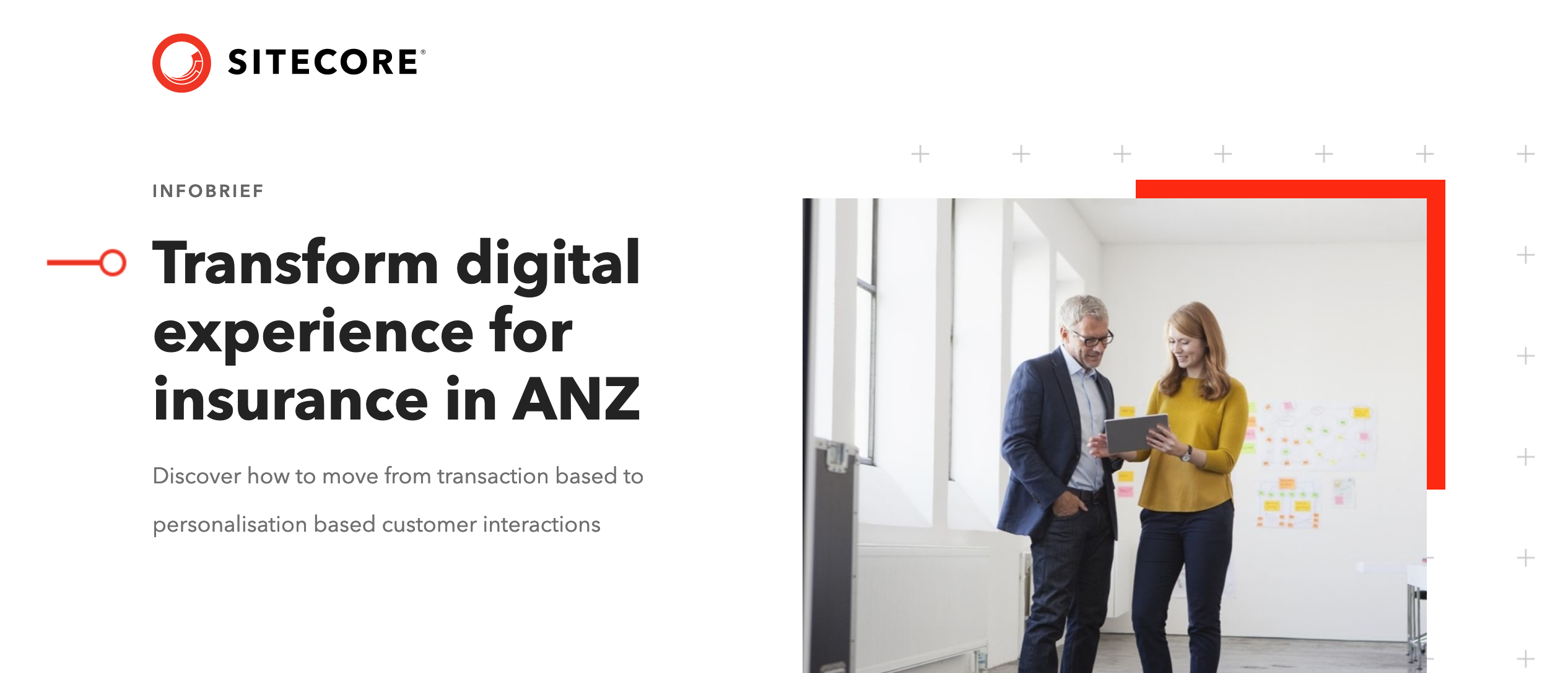 Transform digital experience for insurance in ANZ - Transform digital experience for insurance in ANZ