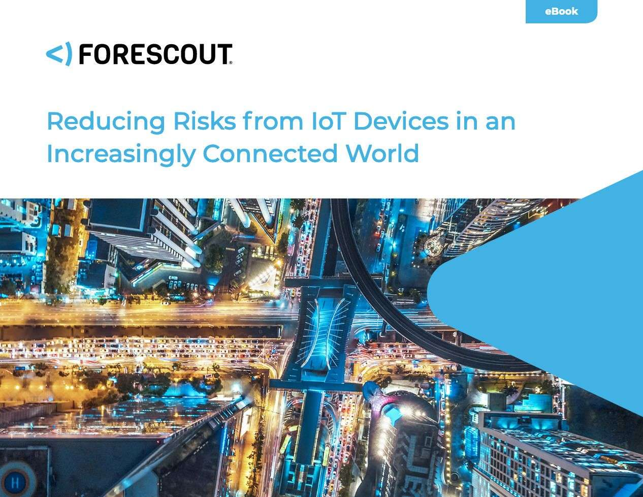 ForescoutOT eBook Reducing Risks from IoT Devices - Reducing Risks of IoT Devices in an Increasingly Connected World