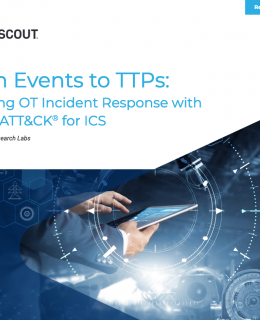 From Events to TTPs Maturing OT Incident Response with MITRE ATTCKr for ICS  260x320 - From Events to TTPs: Maturing OT Incident Response with MITRE ATT&CK® for ICS