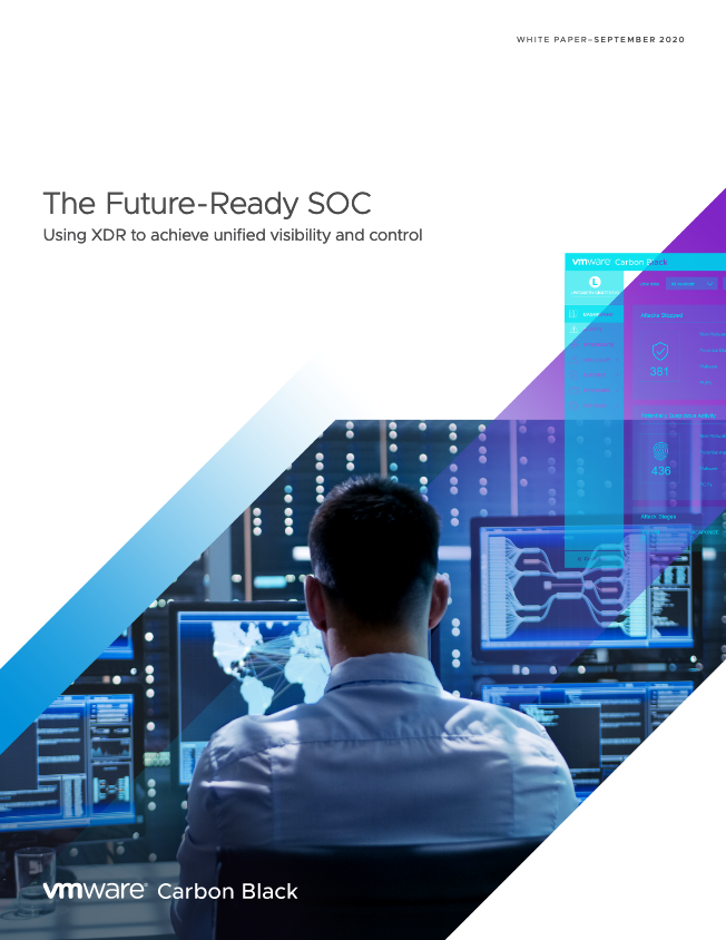 Screenshot 2020 11 03 Future Ready SOC pdf - The Future-Ready SOC: Using XDR to Achieve Unified Visibility and Control