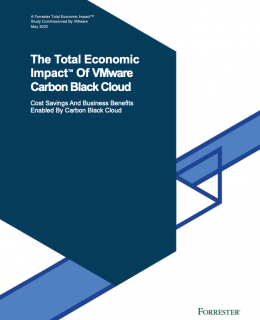 Screenshot 2020 11 03 The Total Economic Impact™ Of VMware Carbon Black Cloud VMWCB Study The Total Economic Impact of VM... 260x320 - The Total Economic Impact™ of VMware Carbon Black Cloud