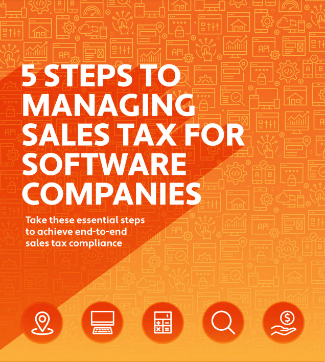 Screenshot 2 4 - 5 STEPS TO MANAGING SALES TAX FOR SOFTWARE COMPANIES