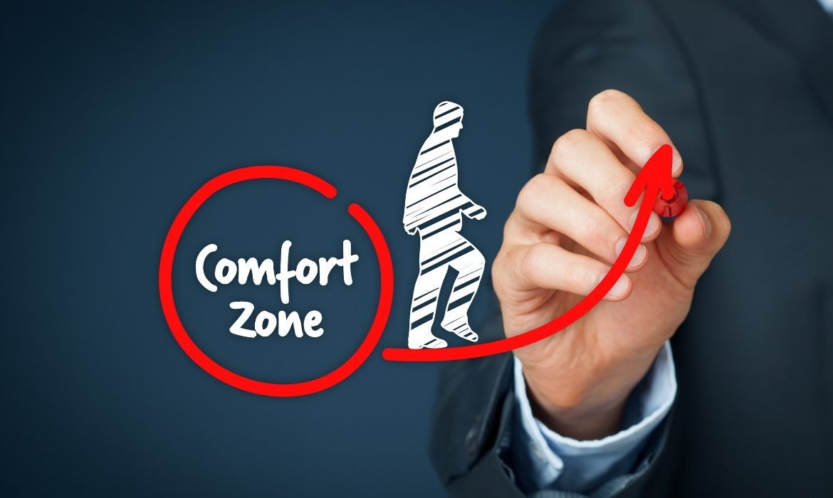 2 1 - Step out of the comfort zone and wonderful things will happen