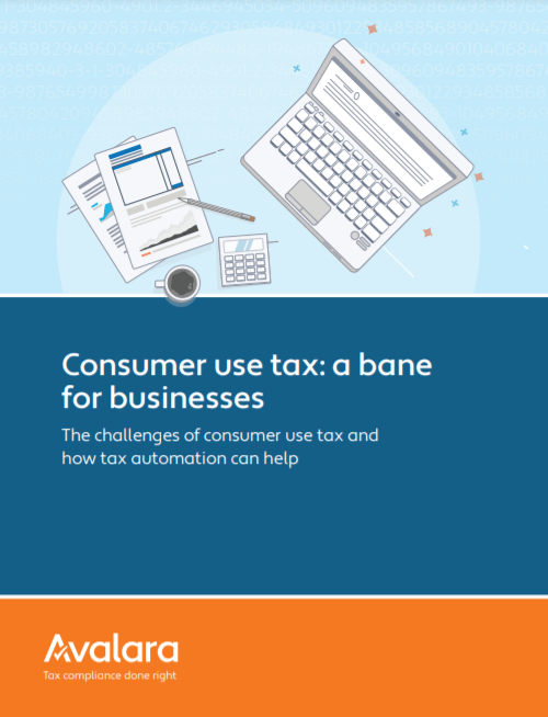 1 1 - Consumer Use Tax: A Bane for Business