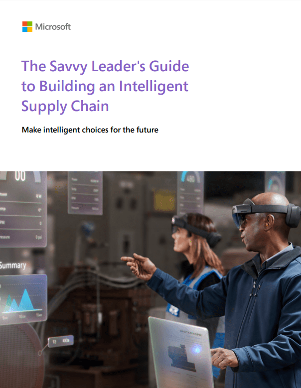 Screenshot 1 10 - The Savvy Leader's Guide to Building an Intelligent Supply Chain
